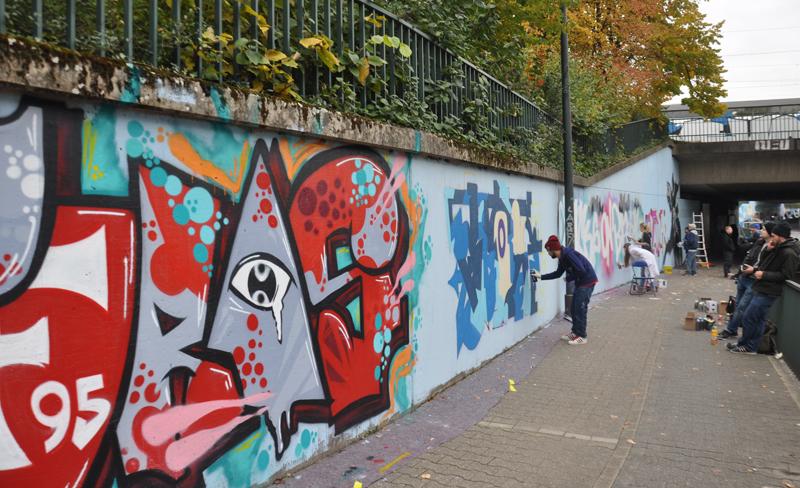 Graffiti Düsseldorf of fame in düsseldorf eröffnet 10 2015 beiträge youpod de